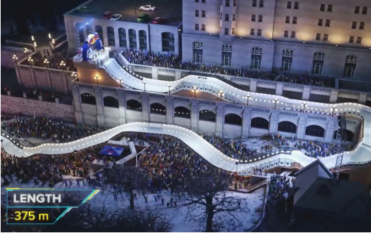 Red Bull Crashed Ice à Ottawa