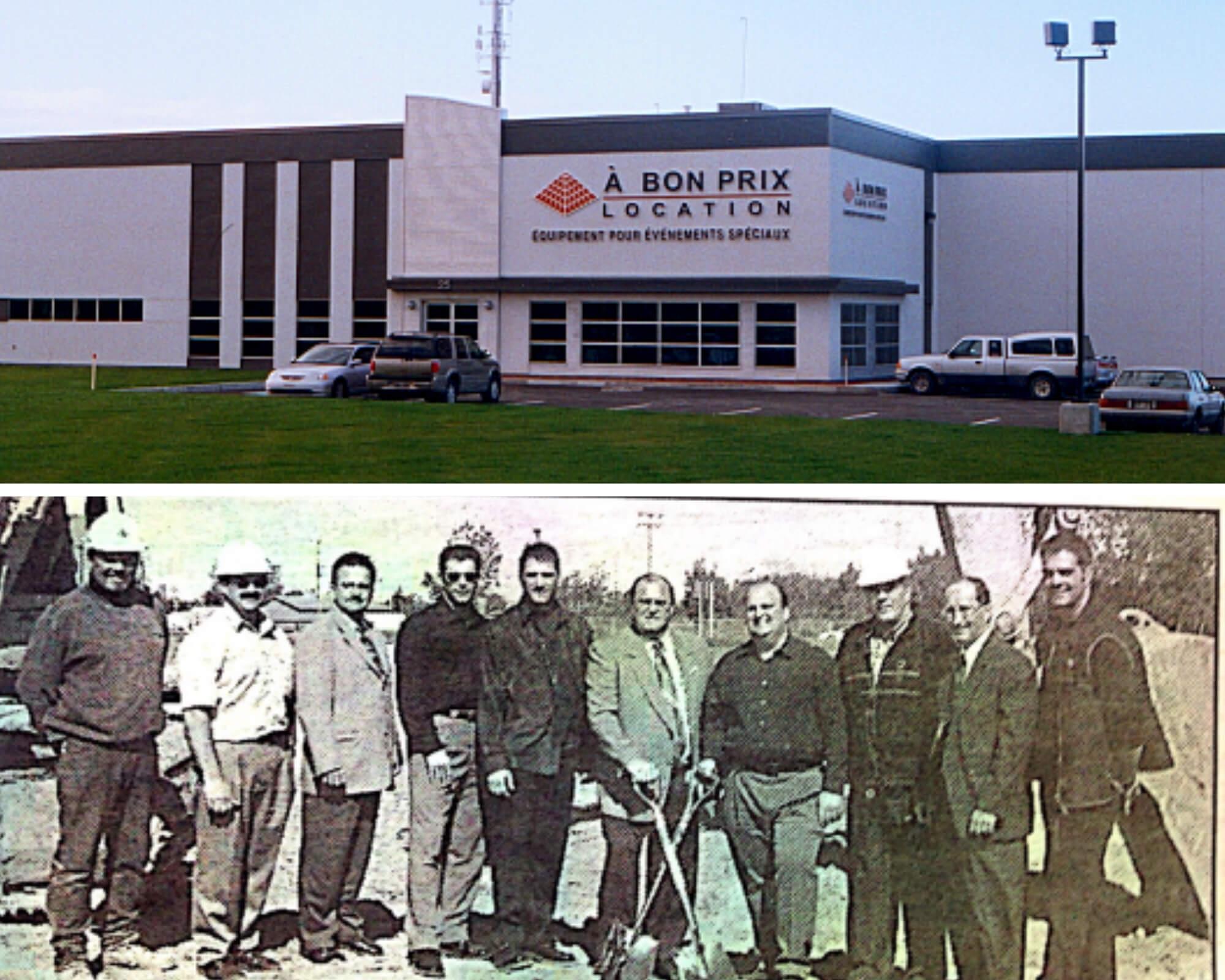 Construction de notre place d'affaires à Repentigny, Québec